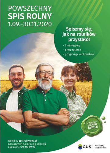 Czytaj więcej: Informacja odnośnie spisu rolnego