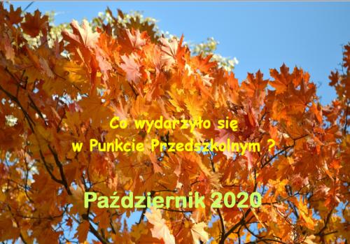 Czytaj więcej: Październik 2020