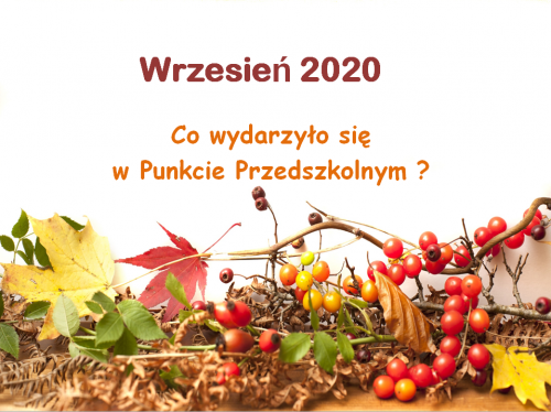 Czytaj więcej: Wrzesień 2020
